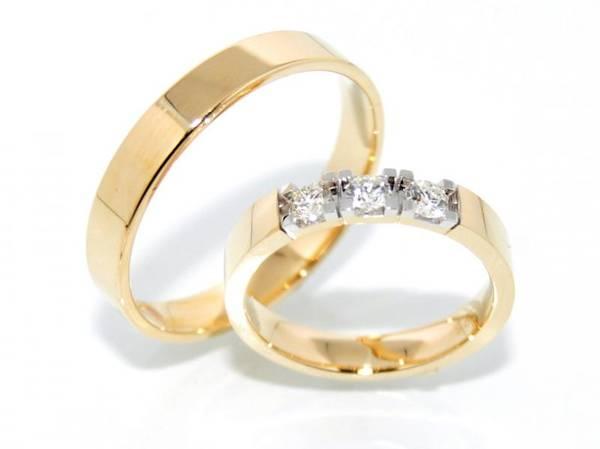 SPESIALPRIS! Forlovelsesringer / Gifteringer m/ diamanter