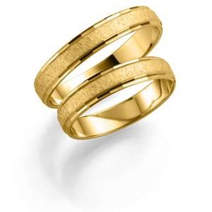 Bilde av Forlovelsesringer gult